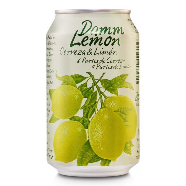 Damm Lemon de 33cl. en lata