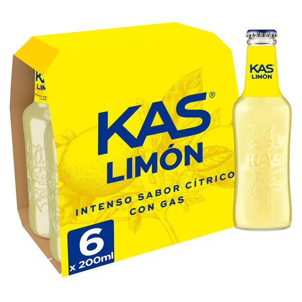 Kas limon p 6 de 20cl.