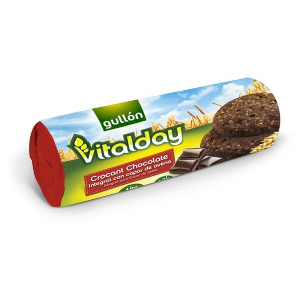 Gullón Vitalday galletas chocolate crocanti de 280g.