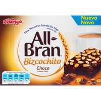 Kelloggs bizcochito chocolate all bran de 240g. en caja
