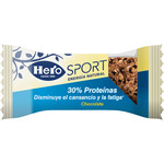 Hero sport barrita chocolate 30% proteinas de 35g.