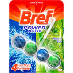 Bref desinfectante wc power activ natura colgador