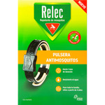 Relec pulsera antimosquitos repelente adulto color negro blister