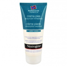 Neutrogena crema pies absorcion inmediata de 10cl.