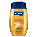 Nivea gel baño natural oil de 20cl.