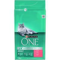 Purina One menu gato one adult bifensis rico en salmon de 1,5kg.