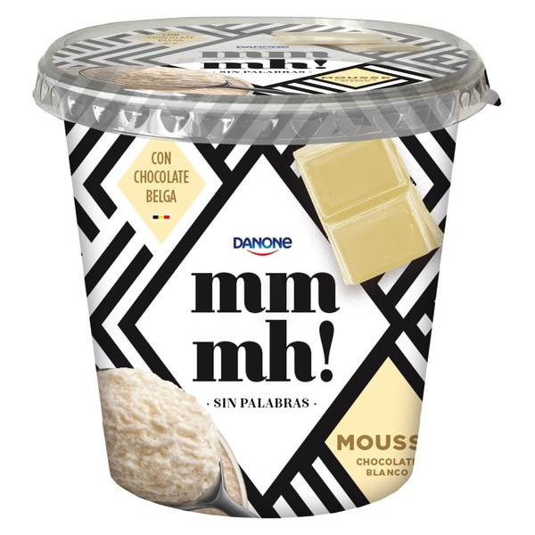 Mmmh mmmh| mousse chocolate blanco de 200g.