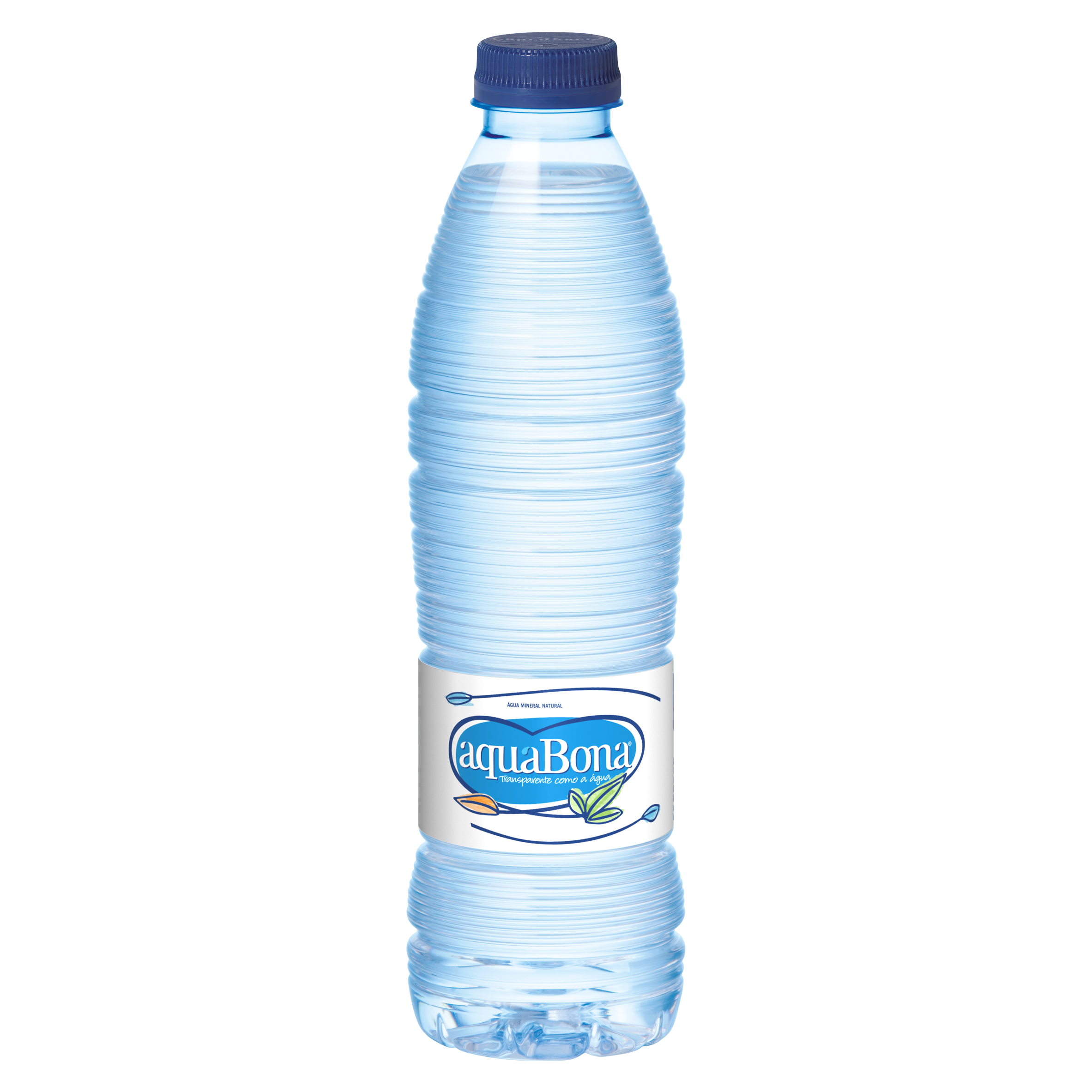 Aquabona agua mineral natural de 50cl. en botella