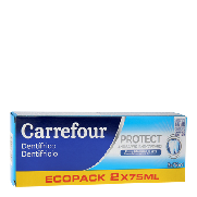 Carrefour dentifrico anti sarro de 75ml. por 2 unidades