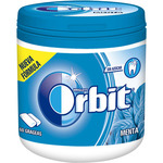 Orbit chicle grageas menta box de 84g.