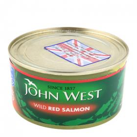 John West salmon rojo de 213g.