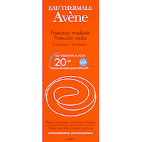 Avene emulsion solar fp 20 oil free de 50ml. en bote