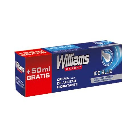Williams expert crema afeitar hidr ice blue 100 de 15cl.