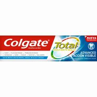 Colgate dentifrico efecto visible total tubo de 75ml.
