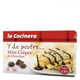 La Cocinera mini crepes chocolate de 270g.