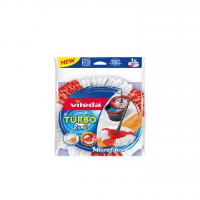 Vileda fregona microfibra nailon turbo 2in1 bicolor 1 ud
