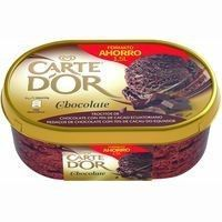 Carte D'or helado chocolate cartedor de 750g. en tarrina