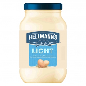 Hellmanns mayonesa light con huevos gallinas camperas de 22,5cl.