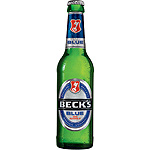 Beck's blue cerveza alemana sin alcohol de 33cl. en botella