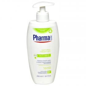 Pharmaline gel intimo natural fresh de 25cl.