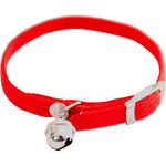 Martin sellier collar gatos nailon elastico color rojo medidas 10 mm 30 cm