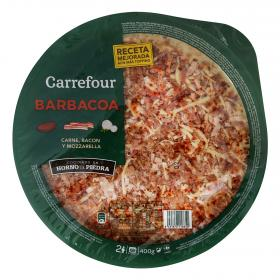 Carrefour pizza barbacoa de 400g.