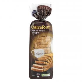 Carrefour pan integral de 600g.