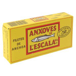 Lescala filete anchoa de 50g. en lata