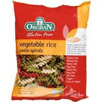 Orgran vegetable rice spiral de 250g. en paquete