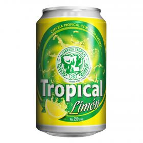 Tropical cerveza limon de 33cl.