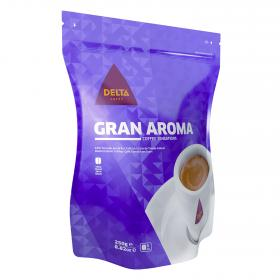 Delta cafe en grano tueste natural de 250g.