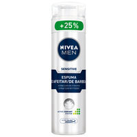 Nivea Men espuma afeitar sensitive hombre 200 50 ml