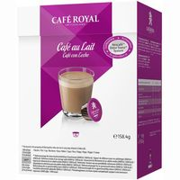 Royal cafe con leche cdg 16 en caja
