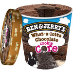 Ben & Jerry's what lotta chocalate helado chocolate con trozos cookie de 50cl. en tarrina