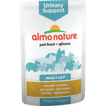 Almo Nature alimento gatos adultos urinary support con pollo envase de 70g.
