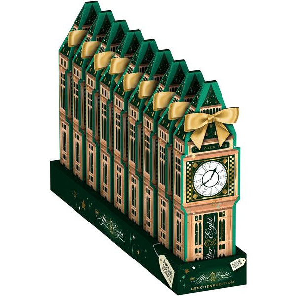 After Eight big ben laminas chocolate menta estuche de 124g.