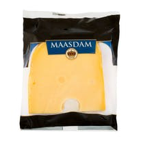 Holland queso maasdam tierno corona porcion de 400g.