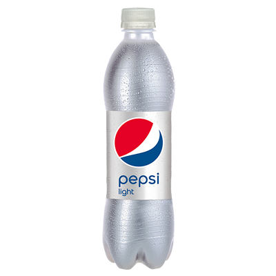 Pepsi light refresco cola 0% azucar de 50cl.