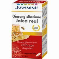 Juvamine complemento nutricional capsula ginseng de 17,8g.