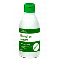Deliplus alcohol romero ideal masajes de 25cl. en botella