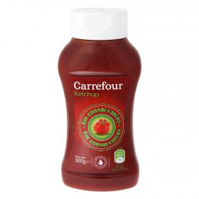 Carrefour ketchup nature de 560g.