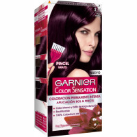 Garnier color sensation tinte violin intenso nº 3 16 coloracion permanente intensa pincel gratis en caja