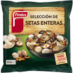 Findus seleccion setas enteras de 300g.