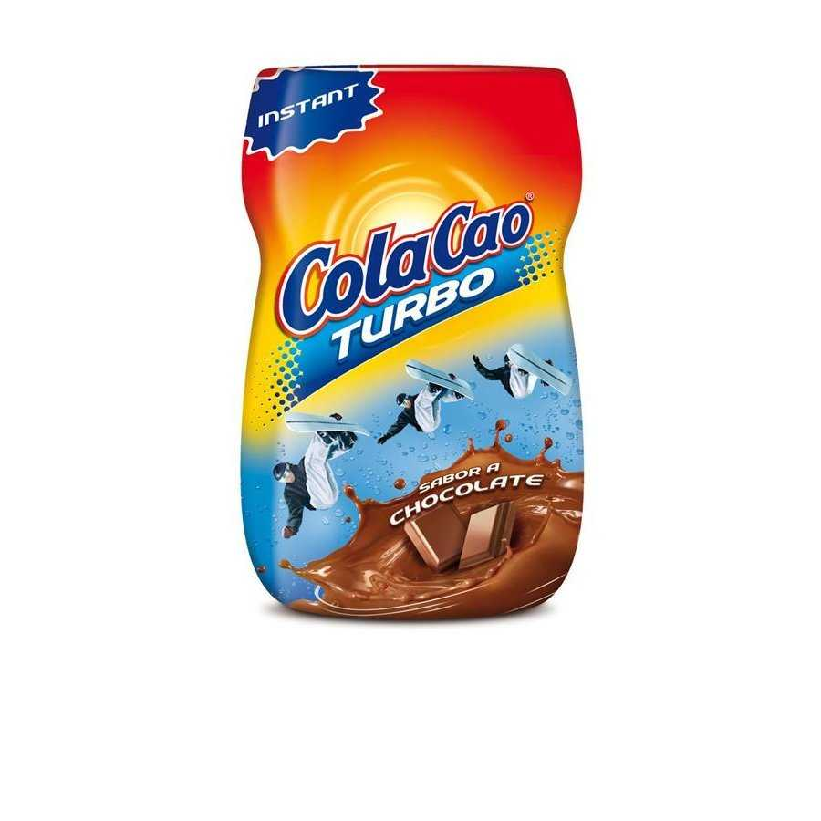 Cola Cao Turbo cacao soluble inst de 375g. en bote