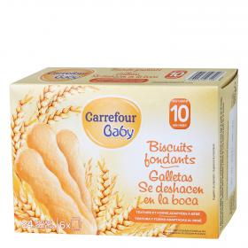 Carrefour Baby galletas bebe de 120g.