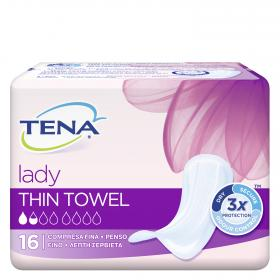 Tena Lady compresa fina mini plus por 16 unidades