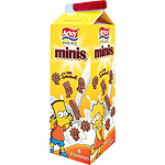 Arluy minis simpson mini galletas chocolateadas con 6 vitaminas de 275g. en paquete