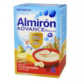Almiron Advance papilla multicereales con fruta advance de 500g.
