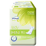 Tena lady compresa incontinencia mini 20 en bolsa