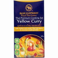 Cooking yellow curry blue elephant de 95g.